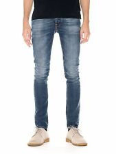 NUDIE JEANS - GRIM TIM - SHADED BLUE - MADE IN ITALY