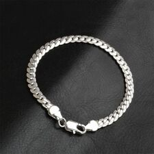 Men Chain Punk Jewelry Accessories Bracelet Bangle Silver Yellow Gold Color