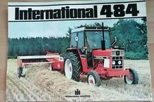 International 484 Tractor Sales Brochure