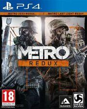 METRO REDUX para PS4 en CASTELLANO ✅ ENTREGA AHORA ✅