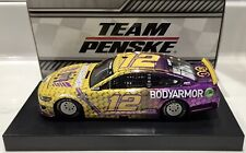 "2020 1/24 #12 Ryan Blaney ""BodyArmor"" CC-Tribute Mustang 1 of 168 Same Day Ship"