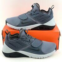 Nike Air Max Trainer 1 Wolf Grey Men's Size 10.5 Training Shoes Black AO0835 003