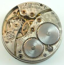 Waltham Pocket Watch Movement - Grade Lady Waltham - Spare Parts,Repair