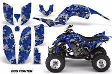 ATV Decal Graphic Kit Quad Sticker Wrap For Yamaha Raptor 660 2001-2005 DOG BLUE