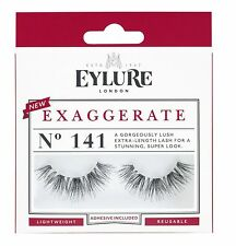 Eylure Strip Lashes Exaggerate Number 141 *Lash Glue & Instruction Supplied*