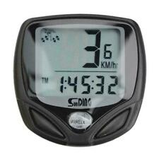 Waterproof LCD Wireless Bike Bicycle Computer Cycle Odometer Speedometer Road