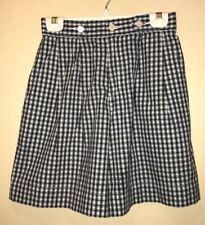 Women's Liz Claibourne Lizsport Blue Checkered Shorts Size 4