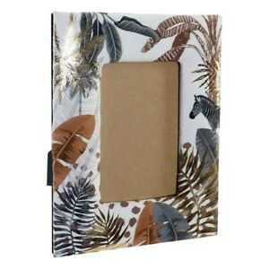 Frame Photos Dkd Home Decor Jungle Polyester (3 7/8x5 7/8in)