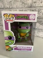 Funko Pop! Vinyl  Teenage Mutant Ninja Turtles  Donatello 60 Vaulted Rare Boxed