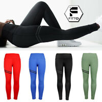 Womens Sports Mesh Yoga High Waisted Gym Leggings Fitness Workout Athletic Pants