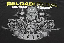 Reload Musikfestival'16 Sulingen Deutschland groß schwarz Konzert Shirt Punk
