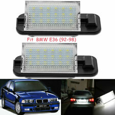 Vehicles License Plate Light Bulb LED Lamp For BMW 3 Series E36 1992-1998 2PCS