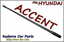 "FITS: 1995-2005 Hyundai Accent - 13"" SHORT Custom Flexible Rubber Antenna Mast"