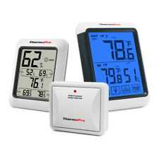 Digital Wireless Indoor Outdoor Hygrometer Thermometers Humidity Meter Tp50&Tp65