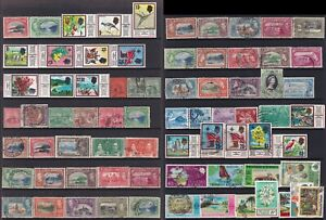 Trinidad and Tobago Stamp 1910-1970 2 pages of mint and used stamps and sets