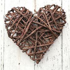 Heart Raw Willow 30 x 30 cm Rattan Ornaments Pasture Window Decor Graze