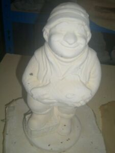 LATEX MOULD / MOLD OF A FISHERMAN , LATEX ONLY £55.00