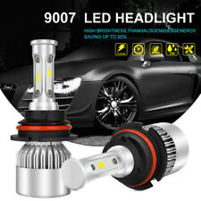 CREE 200W 20000LM LED Headlight Kit 9007 HB5 Hi/Low Beam Bulbs 6000K High Power