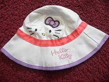 HELLO KITTY BABY GIRL BUCKET SUN HAT BRAND NEW