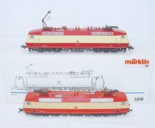 "Marklin AC HO 1:87 German DB BR-120 ""TEE"" 2x ELECTRIC DUO LOCOMOTIVE Set NMIB`90"