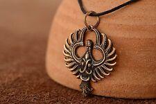 """Bronze Pendant """"phoenix"""""""