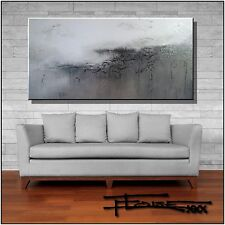 ABSTRACT PAINTING, Modern Canvas Wall Art, extra large, framed, signed ELOISExxx