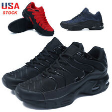 Mens Air Cushion Sneakers Breathable Running Shoes Casual Walking Tennis Fashion