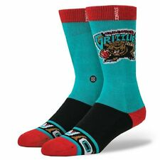 Vancouver Grizzlies Stance NBA Hardwood Classics Socks Large Men's 9-12 Memphis