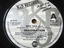 "IMAGINATION - BODY TALK    7"" VINYL"