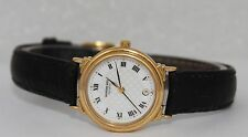 Raymond Weil Geneve 24mm Gold Plated White Dial Watch