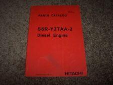 Hitachi S6R-Y2TAA-2 Diesel Engine Factory Original Parts Catalog Manual 17300-