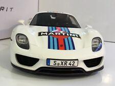PORSCHE 918 SPYDER MARTINI 1/12 GT SPIRIT