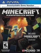 NEW! Minecraft -- PlayStation Vita Edition (Sony PSVITA, 2014) Full DL Game