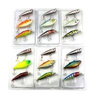 3pcs/Lot Fishing Lures Mixed Set Minnow Crankbaits Crank Bait Tackle Popper Hook