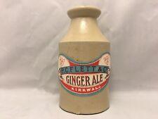 More details for antique p.c.flett & co ginger ale kirkwall stoneware bottle advertising