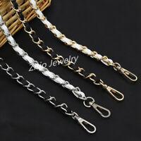 120cm Chain & Leather Replacement Shoulder Crossbody Strap For Bag/Handbag/Purse