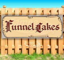 Funnel Cakes Advertising Vinyl Banner Flag Sign Many Sizes Medieval