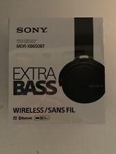 BRAND NEW In BOX Sony Wireless Stereo Headset Bluetooth Headphones MDR-XB650BT