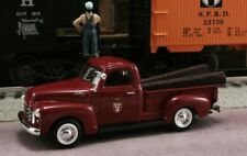 New In Box  GM&O 1/43 1950 GMC Pickup Canadian Pacific Railroad with RR Ties