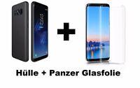 Case + Panzer Glasfolie für Samsung Galaxy S9 Panzerfolie Klar und Schutz Hülle