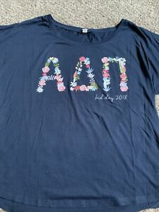 Women's Alpha Delta Pi Shirt Sz XL Sorority Tee