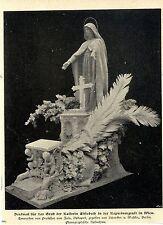 Denkmal (Entwurf v.Prof.Zala) für das Grab d.Kaiserin Elisabeth in Wien c.1900