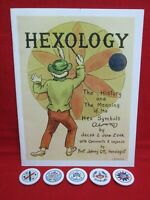 Hexology- The History And Meanings Of Hex Symbols + 5 magnets, Jacob & Jane Zook