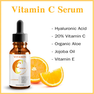 Vitamin C serum with Hyaluronic Acid Suitable for Anit Ageing/Wrinke Face Care