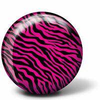 Bowling Ball Brunswick Viz-A-Ball Pink Zebra Bowlingkugel für Spare und Strike