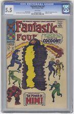 Fantastic Four #67 CGC 5.5 VINTAGE Marvel Comic KEY 1st Warlock (HIM) Cameo