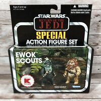 Star Wars ROTJ Return of the Jedi Kenner Kmart Ewok Scouts Endor NIB