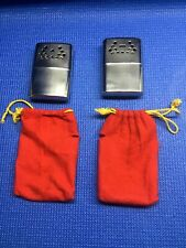 Pair Of Working JON-E STANDARD ORBEX Hand Warmers W/ Pouches