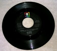 Workin' At The Car Wash Blues Jim Croce 45 RPM Vinyl Single Record Thursday 1973