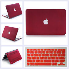 "Rubberized Hard Case Shell +Keyboard Cover for Macbook Pro 13/15"" and Air 11/13"""